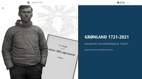 "Ny virtuel særudstilling ""GRØNLAND 1721-2021 KOLONITID. NATIONSDANNELSE. FOLKET."""